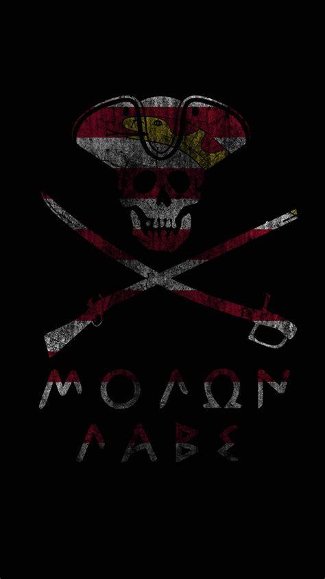 molon labe mobile phone wallpaper