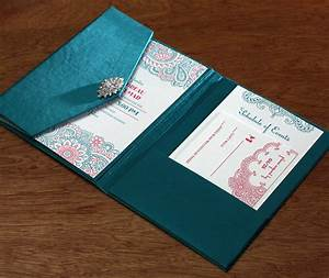 Extravagant indian fabric invitation boxes and folios for Wedding invitation boxes online india