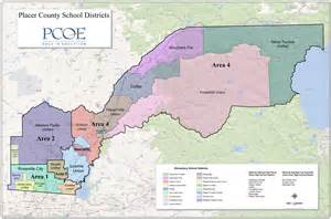 Placer County School District Map