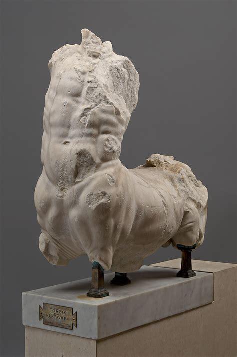 kunsthistorisches museum statue torso eines kentauren