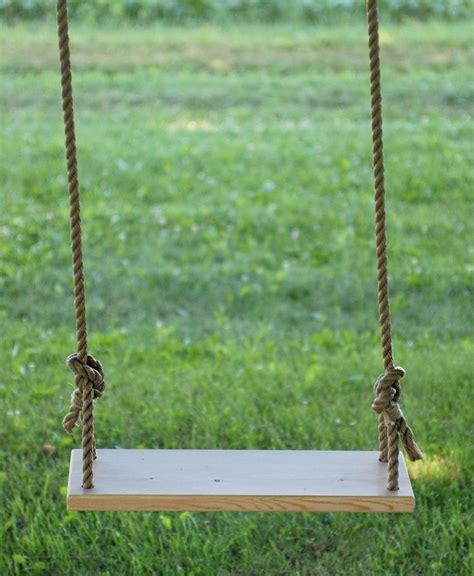 diy tree swing diy swing backyard swings wooden tree swing