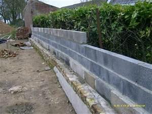 Faire Un Mur De Cloture : mur de cl ture construction de notre maison ~ Premium-room.com Idées de Décoration