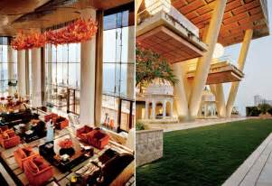 Mukesh Ambani Home Interior What Does The Interior Of The World S Largest And Most Expensive Family Home Look Like Mumbai