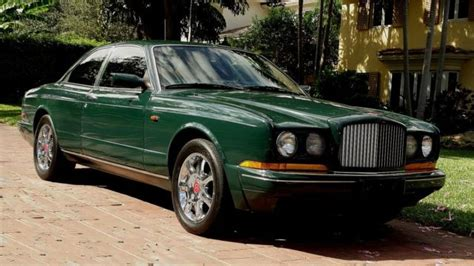 Bentley Continental Gt Luxury Coupe 1993 Dark Green For