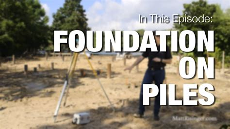 foundation  piles youtube