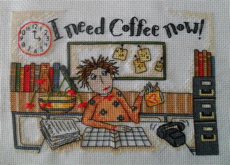 The most common i need coffee now material is ceramic. Rękodzieło Hanulka: I need coffee now - koniec :)