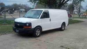 Sell Used 2005 Chevrolet Express 1500 Fleet Van Cargo