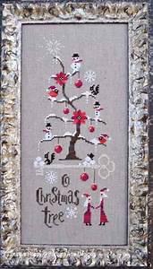 Christmas Tree Pattern Barbara Ana O Christmas Tree Cross Stitch Pattern