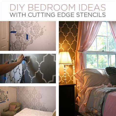 diy bedroom ideas  cutting edge stencils