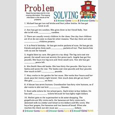 Reading With Problem Solving Worksheet  Free Esl Printable Worksheets Made By Teachers