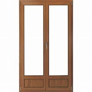 porte fenetre couleur bois fenetre pvc porte de garage With porte fenetre pvc couleur bois
