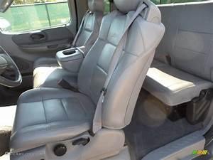 Medium Graphite Interior 2002 Ford F150 Lariat Supercab