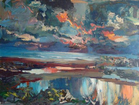 Krāsains vakars - Ainava (Tēmas) - Klasiskās mākslas ...