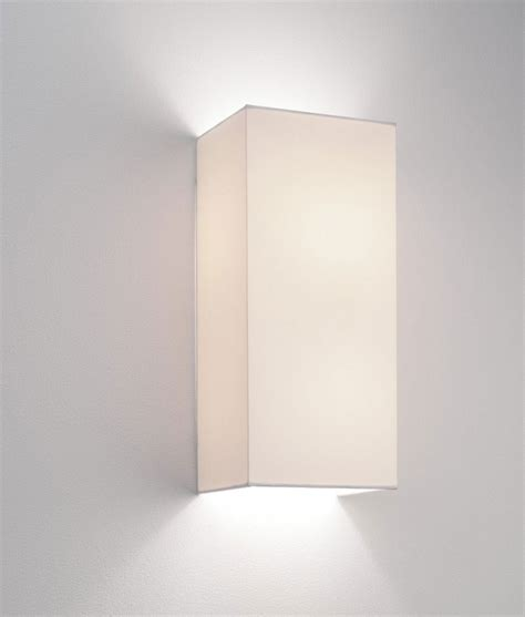 simple fabric wall light up lighting white
