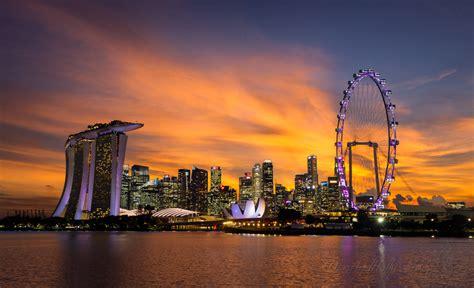 Singapore Sunset - danandholly.com