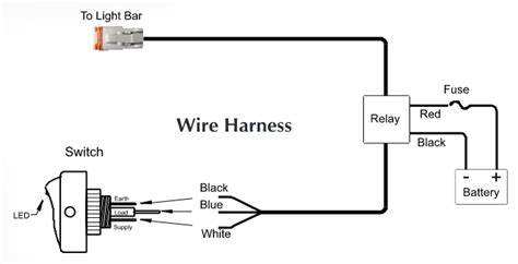 Simple Light Bar Wiring Diagram by How To Install Kc Hilites Led Light Bar 10 In W Harness