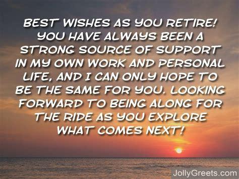 write   retirement card retirement messages