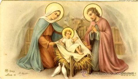 antigua estampa del nacimiento de jesus  comprar