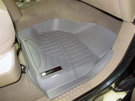 2006 F 250 Weathertech Floor Mats by 2005 Ford F 250 And F 350 Duty Floor Mats Weathertech