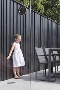 The Oak Essen : project staelens afgewerkt met een houten verticale gevelbekleding van hotwood essen en black ~ Watch28wear.com Haus und Dekorationen