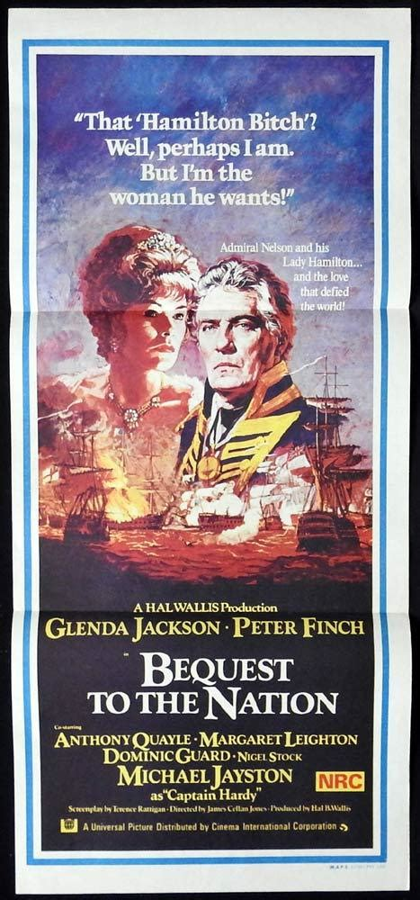 BEQUEST TO THE NATION Original Daybill Movie Poster Glenda ...