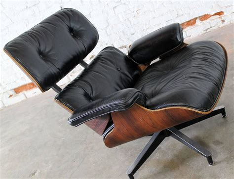 eames lounge chair and ottoman used vintage herman miller eames lounge chair and ottoman in