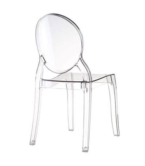 sedie in policarbonato trasparente sedia trasparente moderna in policarbonato spazio casa