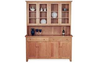 Cherry Finish Bedroom Furniture by Vermont Country Buffet And Hutch Top