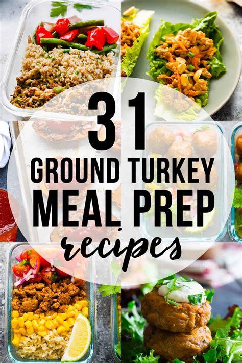 Get the recipe for turkey taco skillet. 31+ Ground Turkey Meal Prep Recipes | sweetpeasandsaffron.com