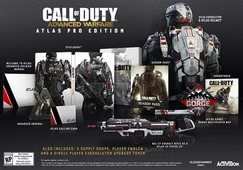 advanced warfare collectors editions officially announced