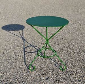 Petite Table Ronde De Jardin : mobilier de jardin ancien et objets en fer brocante d co ~ Dailycaller-alerts.com Idées de Décoration