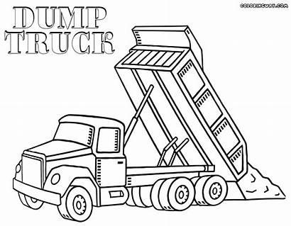 Dump Coloring Truck Pages Dumper Dumptruck