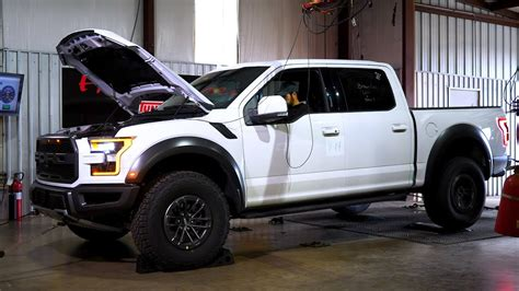 ford raptor baseline chassis dyno test youtube