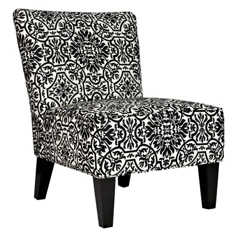 angelo home davis chair black white damask accent