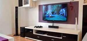 Fernseher An Die Wand : one for all sv6440 wandhalterung f r die schlanke linie ~ Bigdaddyawards.com Haus und Dekorationen