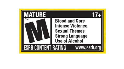 Esrb Issues Changes For Marketing Of Mature Games