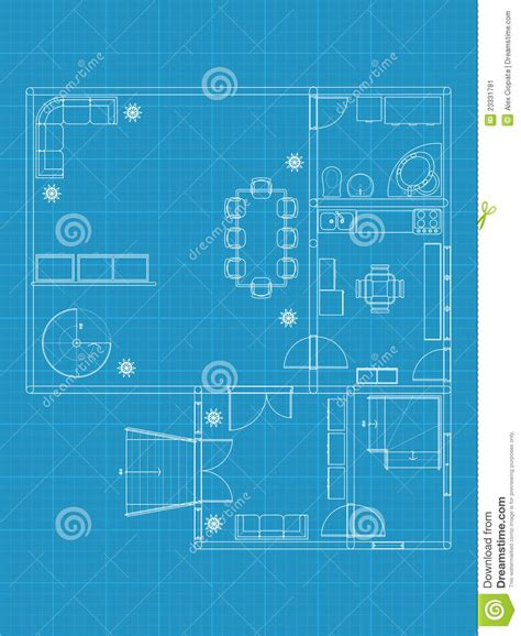 build blueprints building blueprints stock vector image of drawing