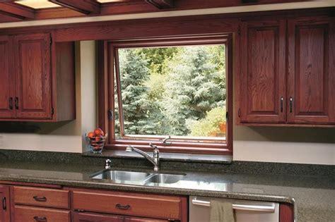 awning window   kitchen sink    renewal  andersen   casement