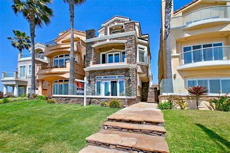 Beachfront House In California : Homes In Huntington Beach, Ca