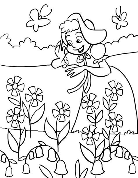 printable nursery rhymes coloring pages  kids