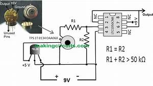 Simple Infrared Thermopile Sensor Circuit Explained