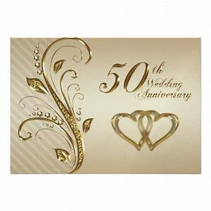 golden wedding anniversary invitation card 5quot x 7 With golden wedding anniversary invitations