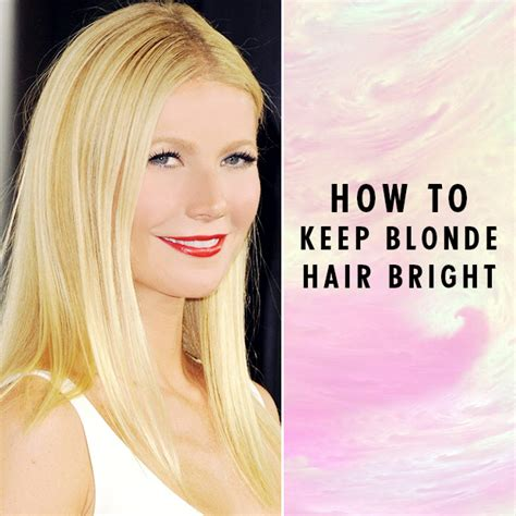 How To Keep Blonde Hair Bright  Hair Extensions Blog