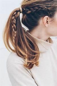 Coiffure Tresse Facile Cheveux Mi Long : la coiffure d 39 t nos astuces en photos et vid os ~ Melissatoandfro.com Idées de Décoration