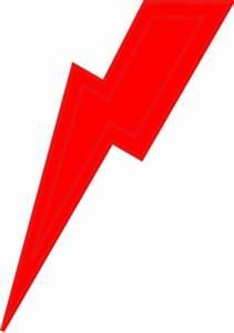 Red Lightning Bolt Clip Art at Clker.com - vector clip art ...