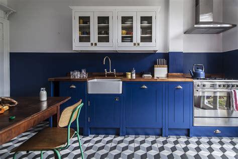 deco cuisine bleu la tentation d 39 une cuisine bleue