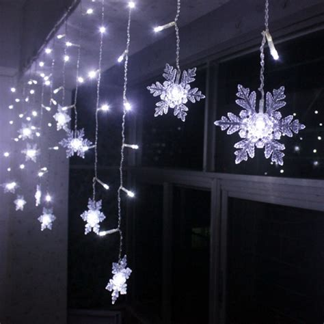 Led Hand Lamp by Buy Led Snowflake Light String Christmas Wedding Curtain