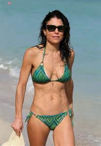 greeeen bikini bethenny frankel in green bikini on miami beach