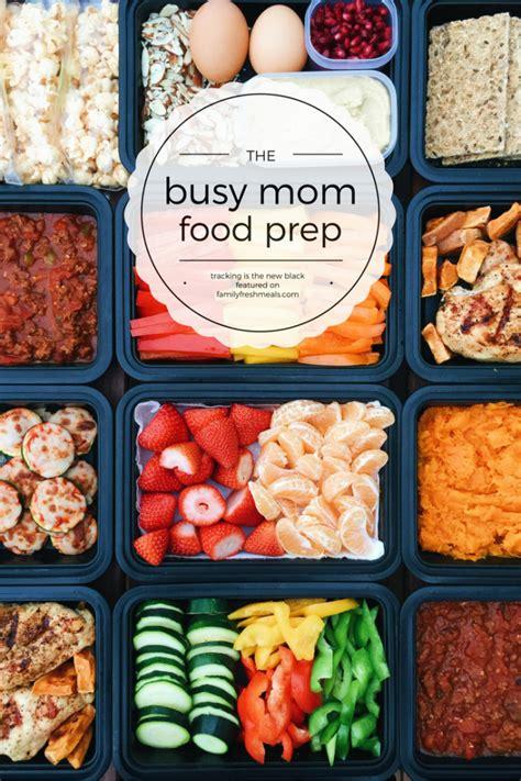 busy mom food prep family fresh meals