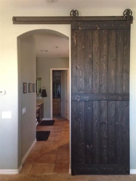 barn door  arched opening   home interior